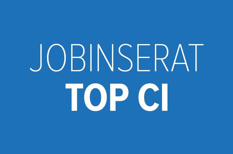 Jobinserat TOP CI