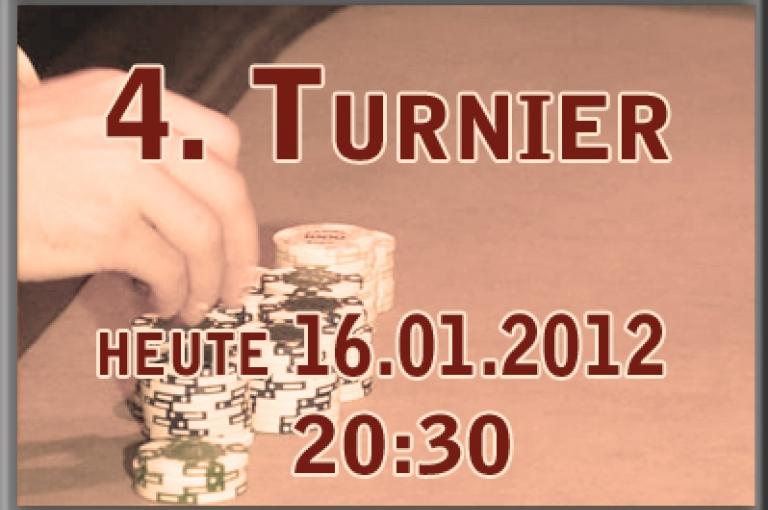 4. Spieltag am 16.01. ab 20:30 Uhr