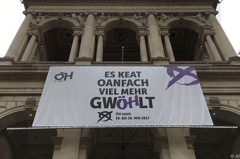 ÖH-Wahl: Linke Mehrheit, VSStÖ top, Beteiligung Flop