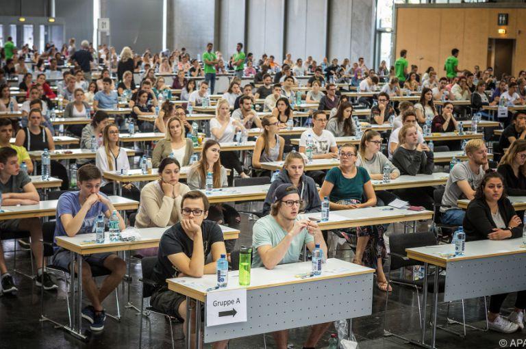 Medizin-Aufnahmetest: Heuer fast 13.000 Test-Teilnehmer