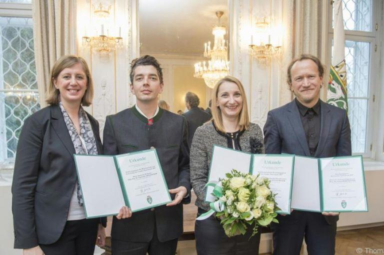 Land Steiermark vergab drei mit 12.000 Euro dotierte Forschungspreise