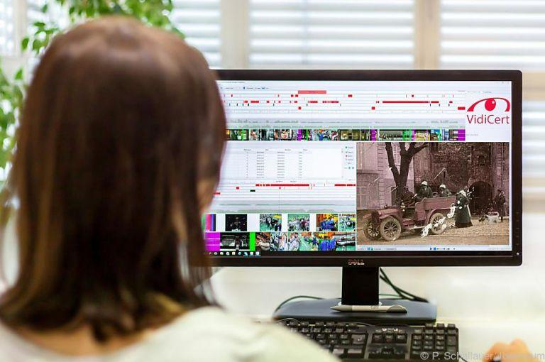 Joanneum Research kontrolliert Qualität bei Filmrestaurierung