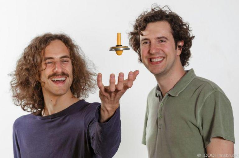 Physiker schafften Basis für Schwebetrick mit ruhenden Nanomagneten