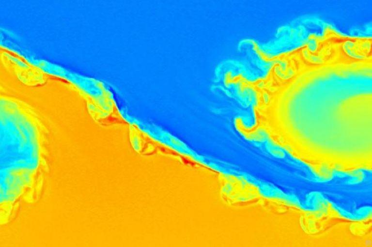 Erdmagnetfeld unter Beobachtung: Forscher beobachten riesige Tornados