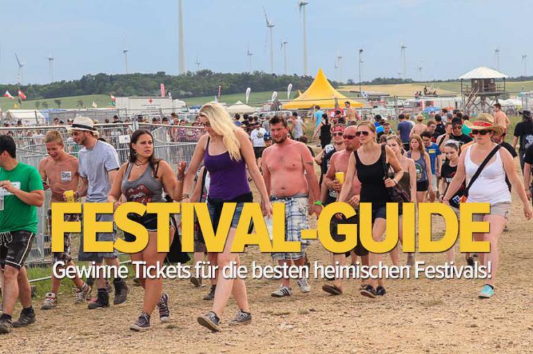 Studium.at Festival-Guide - Gewinnspiele für die besten Festivals