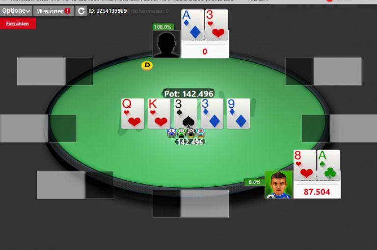 HPS 8 - Starterfeld für das Lucky Loser Turnier