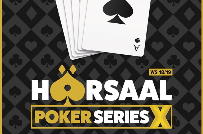 Finale der Hörsaal Poker Series X