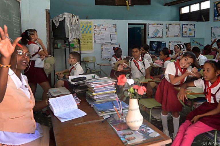 Castro tot - Kuba fühlt sich bei Bildung als Amerika-Champion