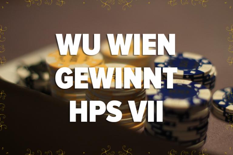 WU Wien gewinnt HÖRSAAL POKER SERIES VII