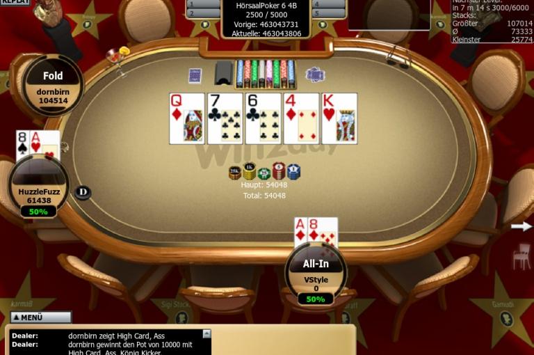 Hörsaal Poker Series VI – Das war Online-Turnier Nummer 4