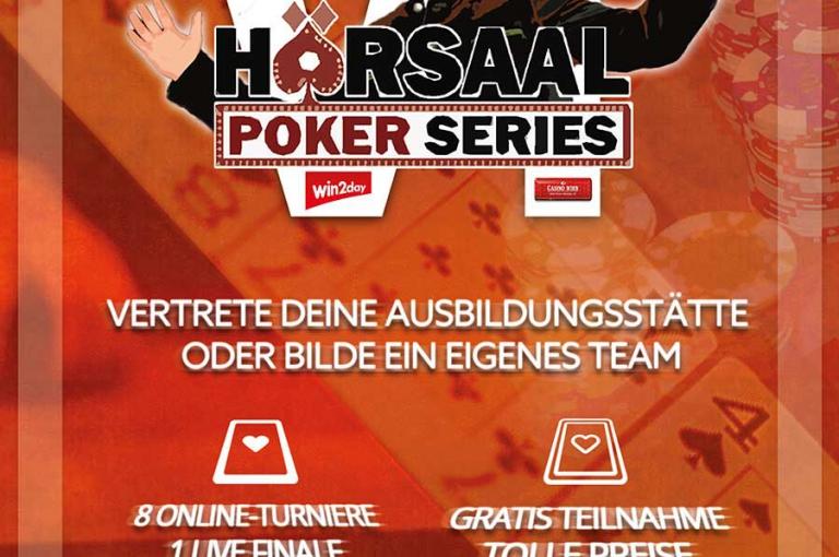 Hörsaal Poker Series VI - Es wird ernst...