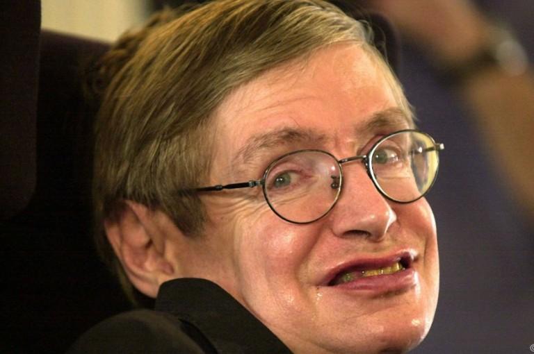 Florian Freistetter packt sein Idol Stephen Hawking in die Nussschale