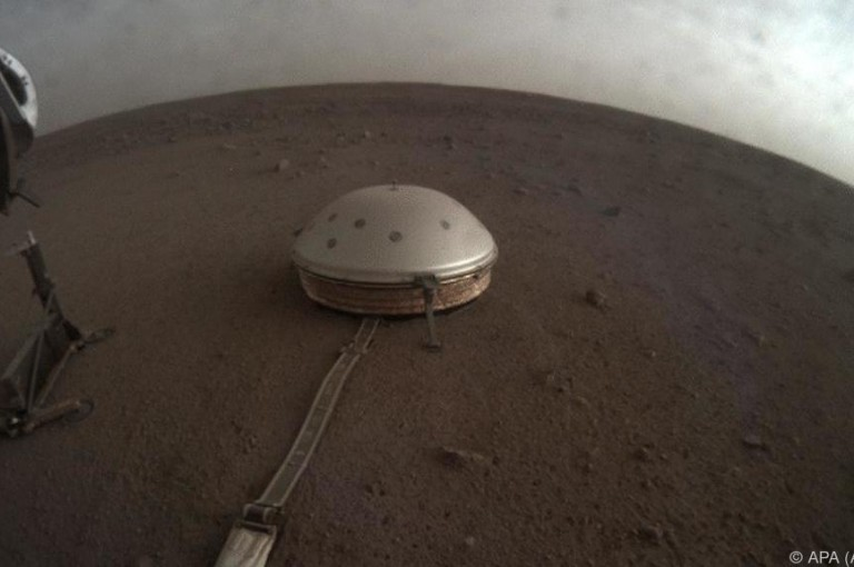 Marsbeben geben Hinweise auf das Innere des Planeten