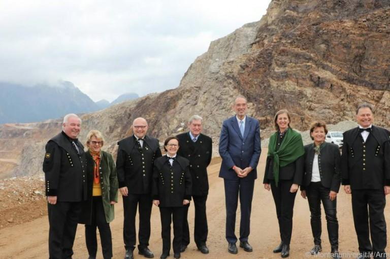 Unterirdisches Tunnel-Forschungszentrum im Erzberg eröffnet