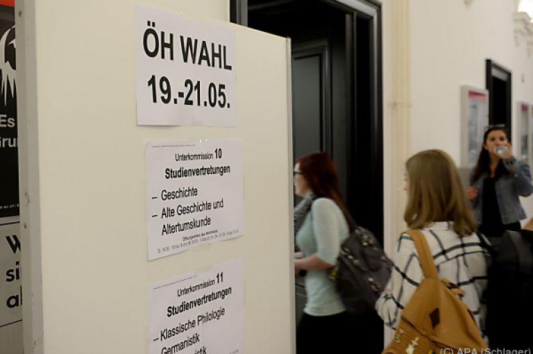 """ÖH-Wahl: Start je nach Hochschule """"flott"""" bis """"zäh"""""""