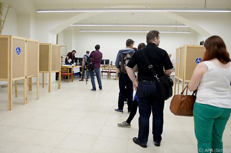 ÖH-Wahl: Geringe Wahlbeteiligung zeichnet sich ab