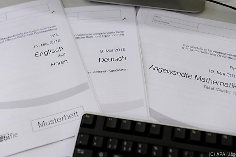 Zentralmatura: Deutsch mit drei Aufgabenpaketen