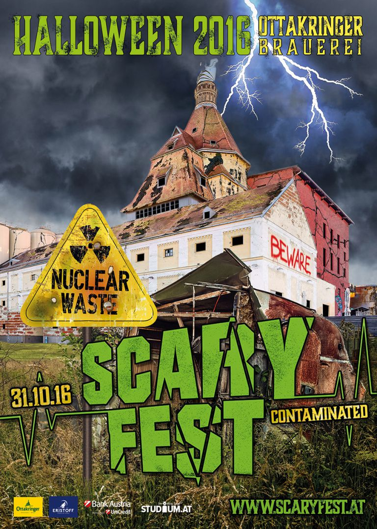 SCARYFEST 2016 - Vienna's ULTIMATE Halloween Party