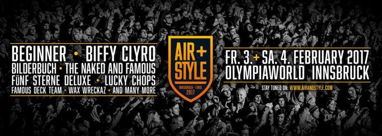 Air + Style Festival Innsbruck-Tirol 2017
