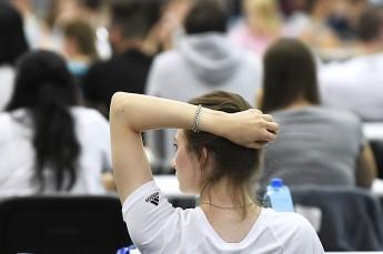 Insgesamt beteiligten sich am Aufnahmetest 12.574 Studienwerber