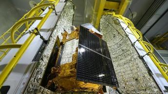 Gut verpackt startet Sentinel-5P als sechster Umweltwächter