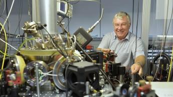 Die Gruppe um Rainer Blatt setzt auf Ionenfallen-Technologie.