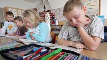 Entwicklung an Volksschulen am deutlichsten