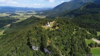 Das Gipfelplateau des Hemmabergs in Kärnten