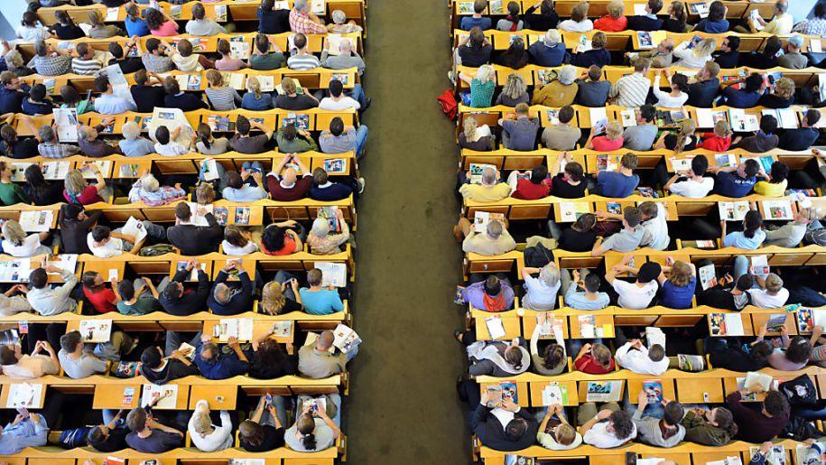Fast 4.500 Studenten begannen im Wintersemester ihr Jus-Studium