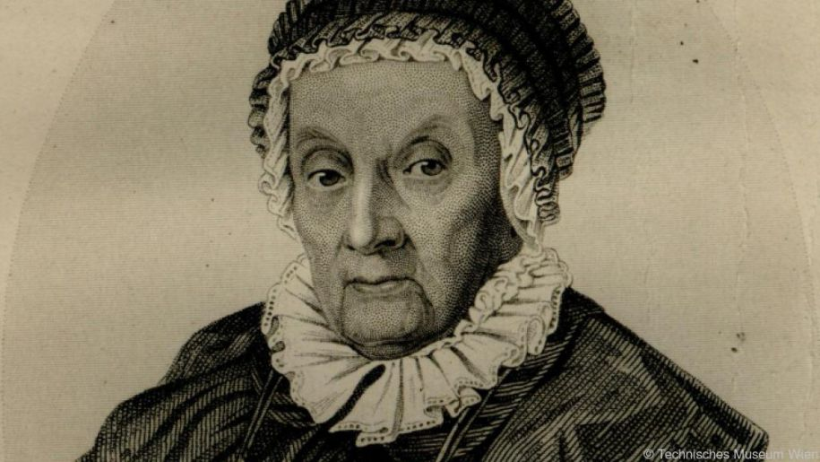 Astronomin Caroline Herschel (1750-1848)